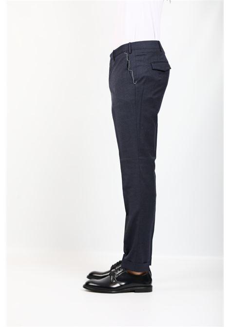 WOOL TROUSERS BLUE PT TORINO | Pants | AFMAZ00CL1-MR470350