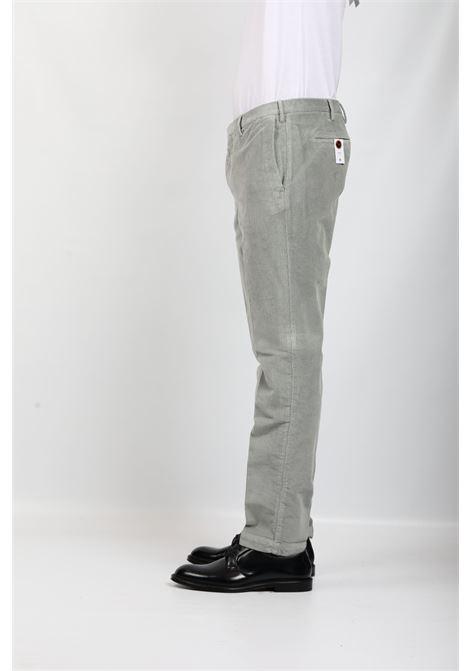 VELVET TROUSERS GREY PT TORINO | Pants | KTZEZ00CL1-PU320224