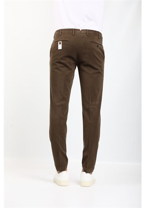 GABARDINE TROUSERS BROWN PT TORINO | Pants | KTZEZE00CL1-NU460180