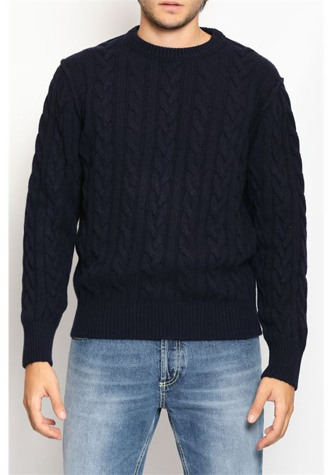 CACHEMIRE BLEND SWEATER RE_BRANDED | Knitwear | M936KIWS500646