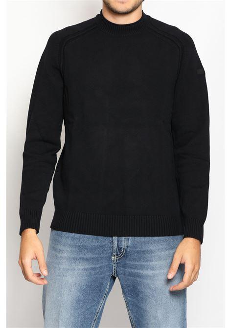 KNIT COTTON PLAIN ROUND RRD | Knitwear | W2111360