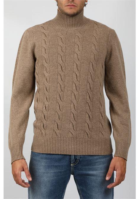 TURTLENECK SWEATER TAGLIATORE | Knitwear | MDLLATRE-PWI21BEIGE