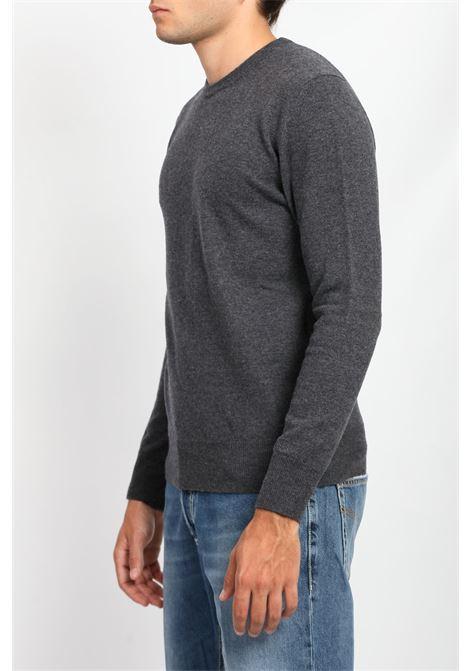 SUPERGEELONG CREWNECK WOOLRICH | Knitwear | CFWOKN0120MRUF0560CHARCOAL