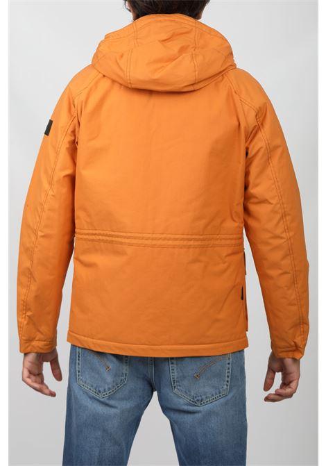 MOUNTAIN COTTON JACKET ORANGE WOOLRICH | Outerwear | CFWOOU0466MRUT1698MINIUM