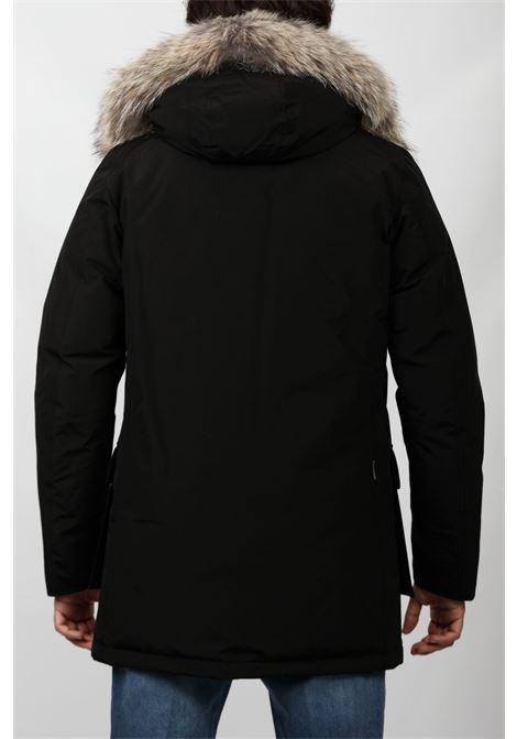 ARCTIC DETACHABLE FUR PARKA BLACK WOOLRICH | Outerwear | CFWOOU0482MRUT0001BLK