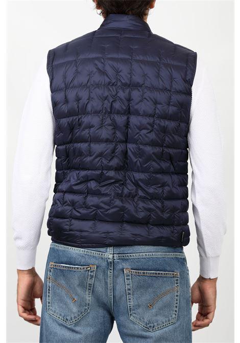 DEEPSIX VEST BLUE WOOLRICH | Outerwear | CFWOVE0030MRUT2686BLUE IRON