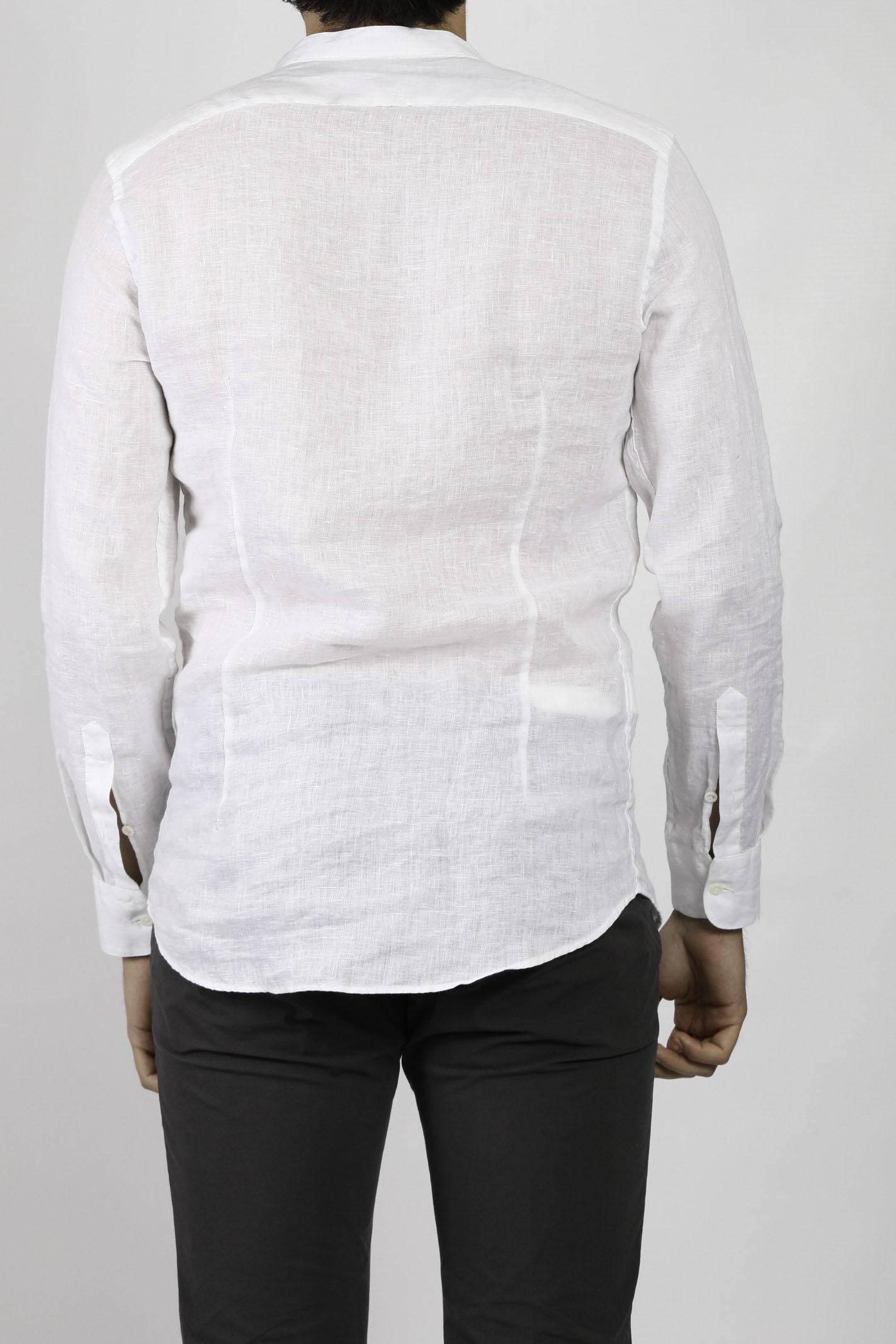 LINEN SHIRT AGLINI | Shirts | E701.TCBIANCO