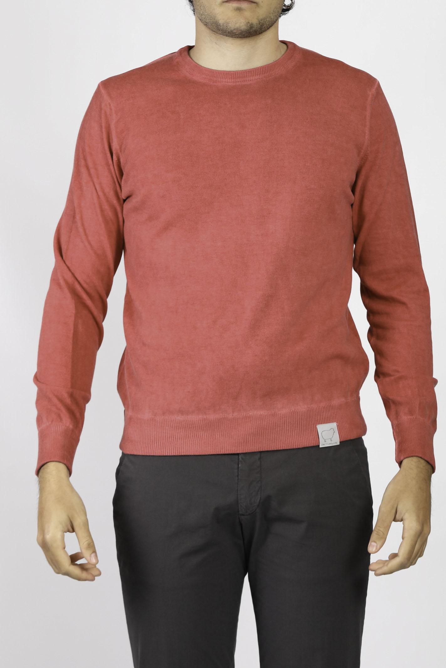 COTTON CREW NECK SWEATER DETWELVE | Knitwear | 6094121