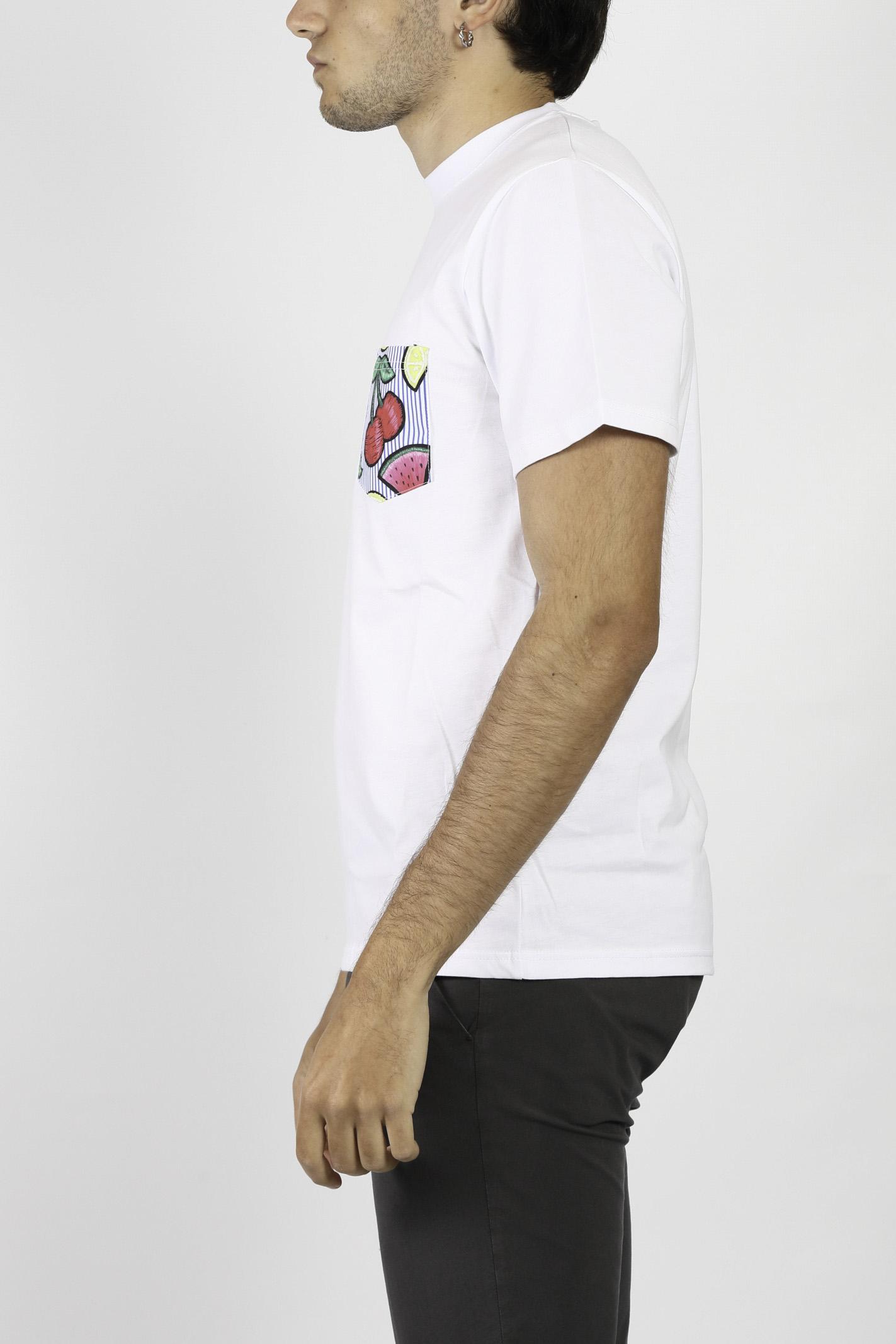 T-SHIRT IN COTONE DETWELVE | T-shirt | CU654CILIEGIA