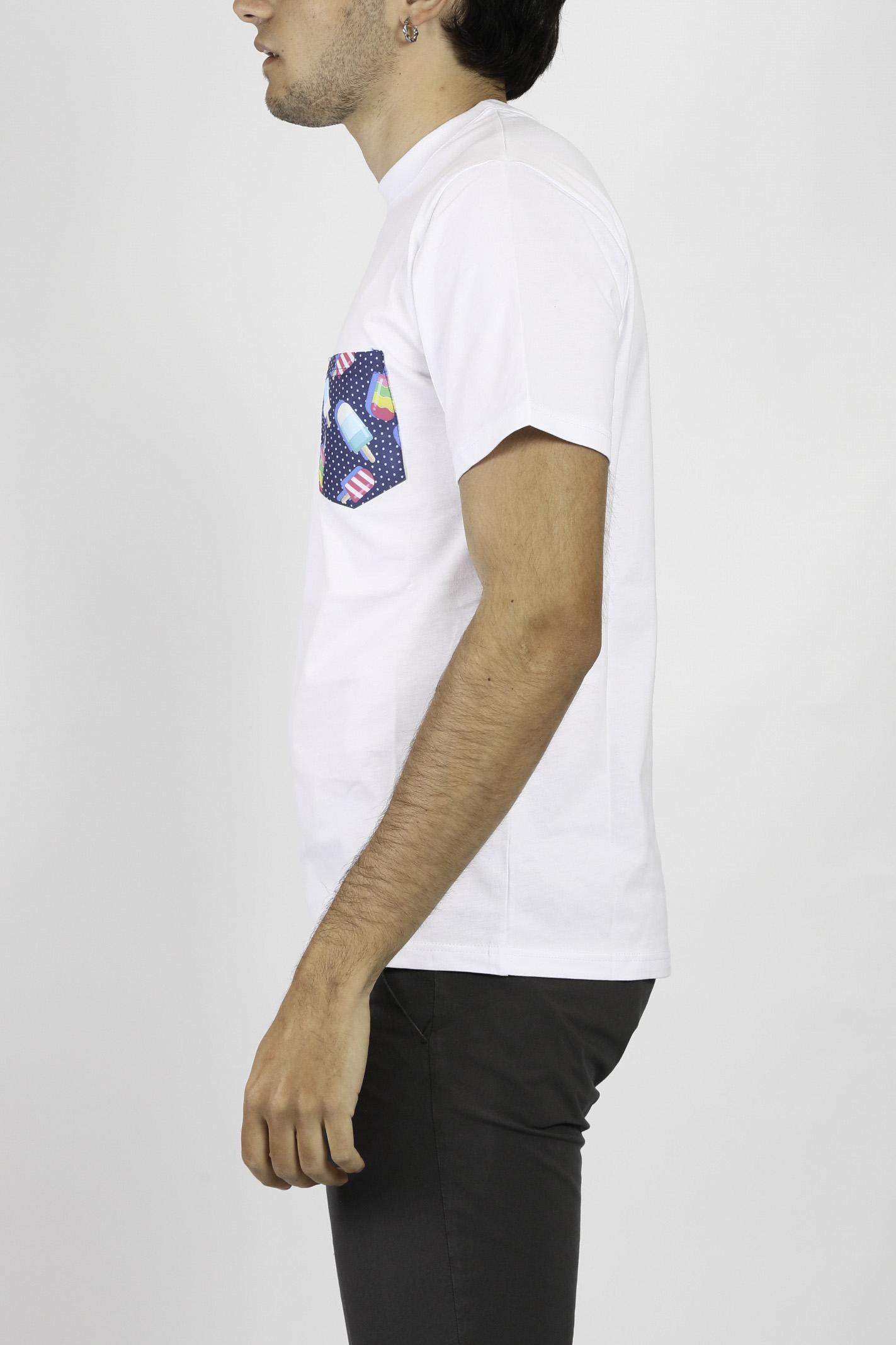 T-SHIRT IN COTONE DETWELVE | T-shirt | CU654GELATO
