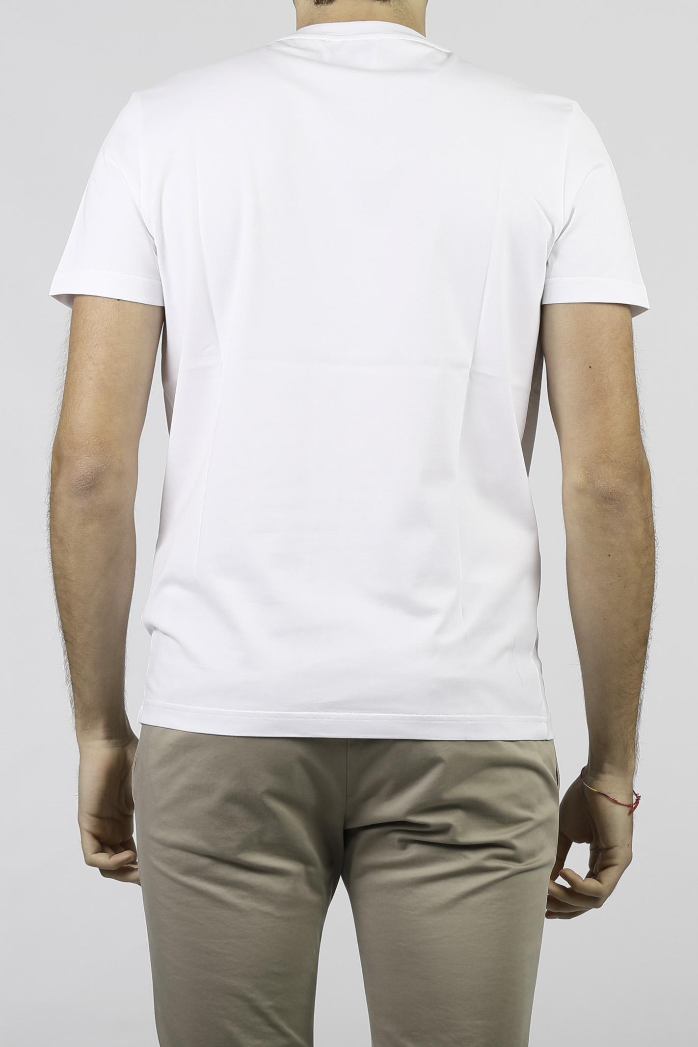 T-SHIRT IN COTONE DONDUP | T-shirt | US198-FJ0271U-BF4000