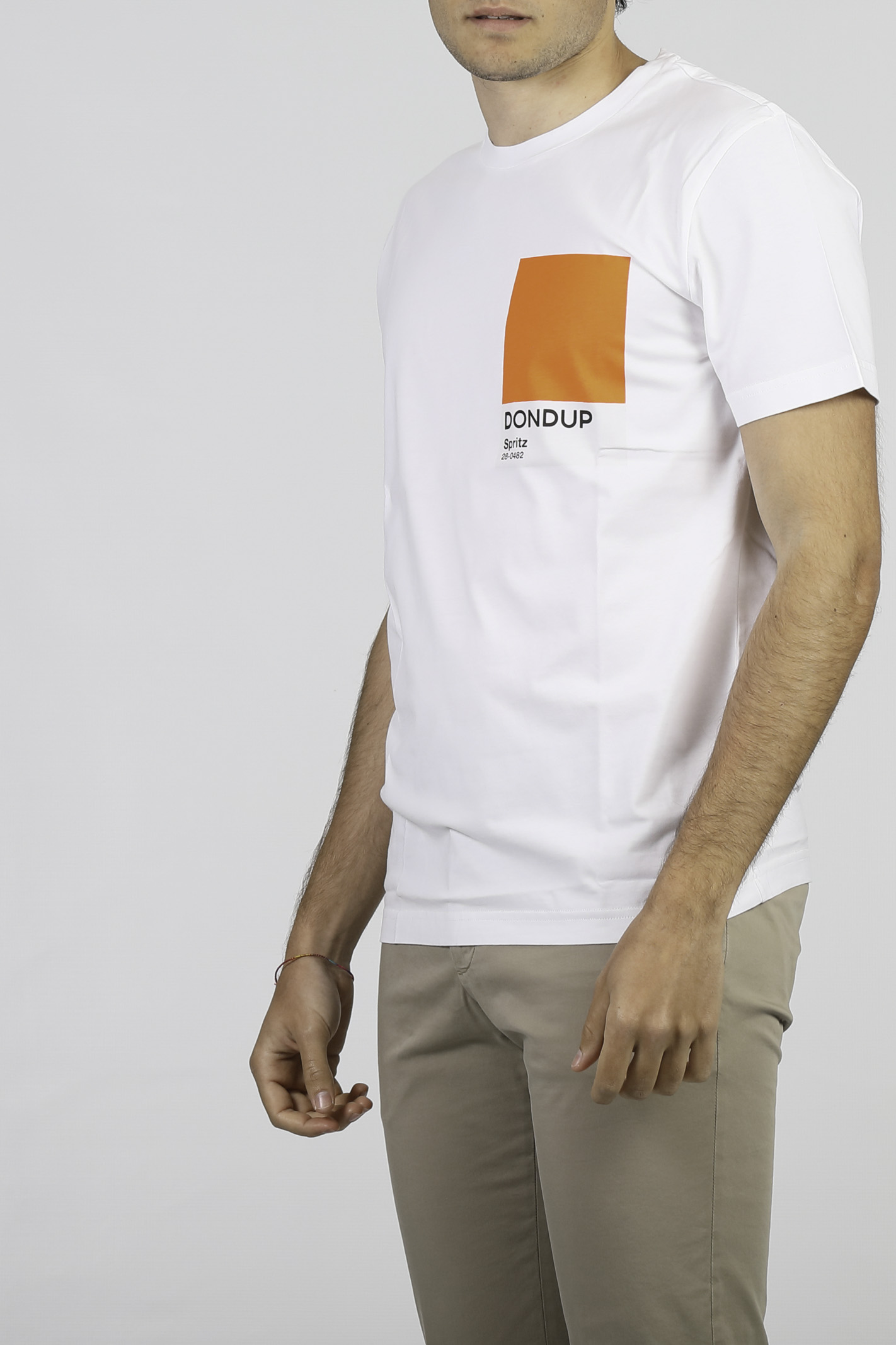 T-SHIRT IN COTONE DONDUP | T-shirt | US198-JF0284U-BH4000