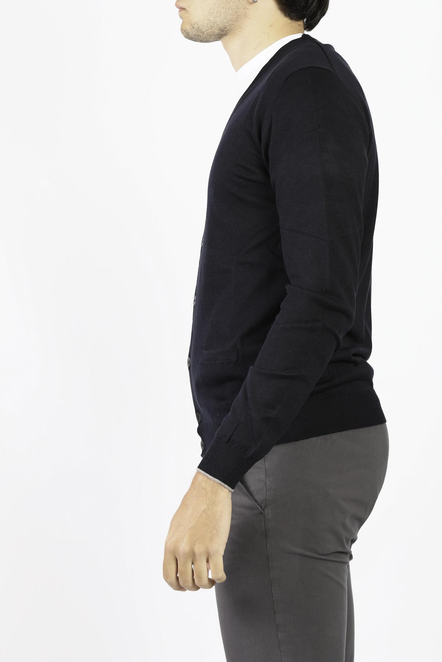 COTTON KNIT CARDIGAN JEORDIE'S | Knitwear | 60519402