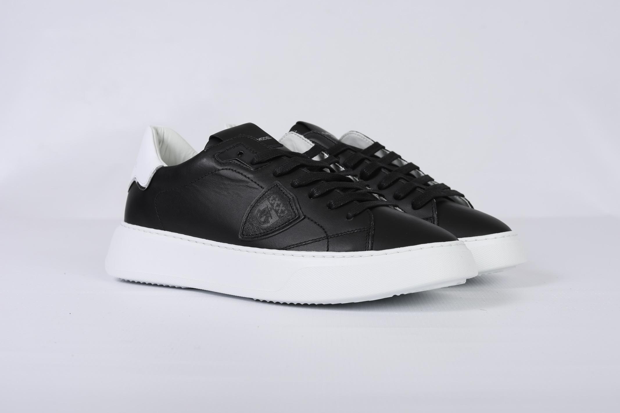 TEMPLE VEAU - NOIR BLANC PHILIPPE MODEL | Shoes | BTLUV002