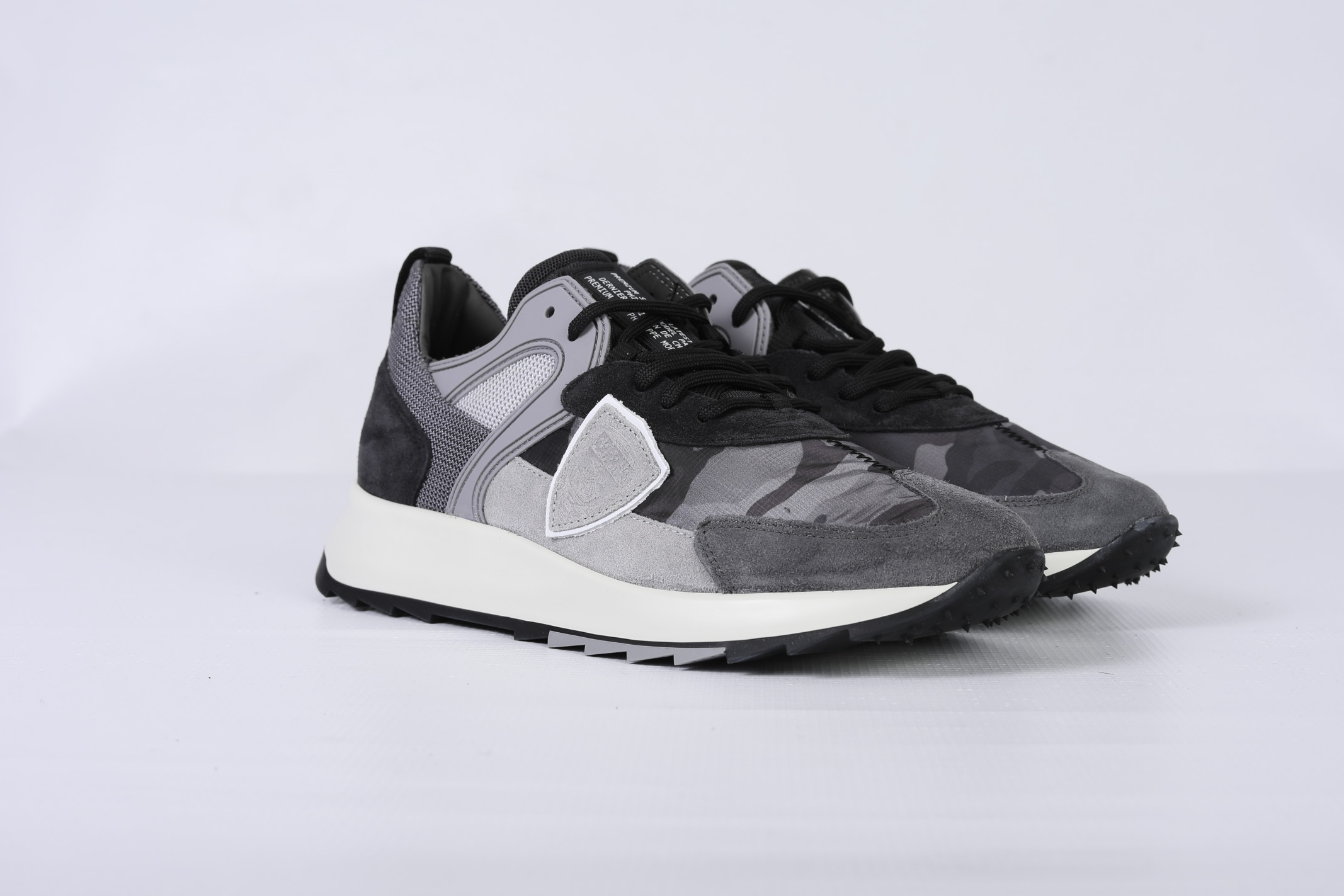ROYALE CAMOUFLAGE - ANTHRACITE PHILIPPE MODEL | Shoes | RLLUCC01