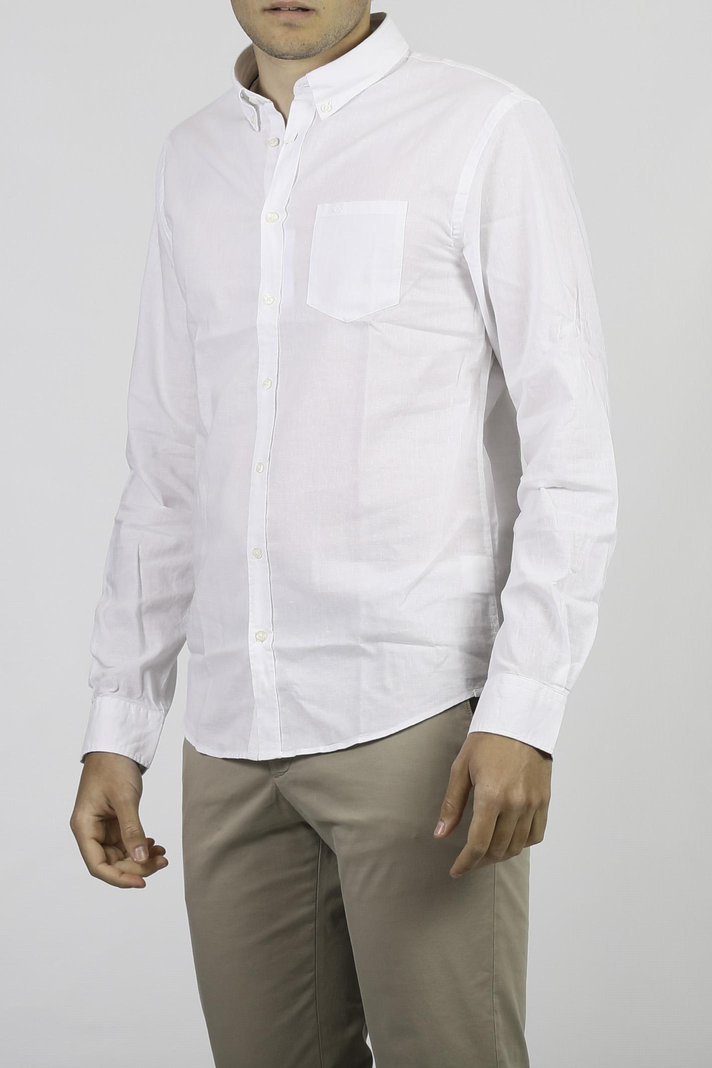 CAMICIA IN MISTO LINO SUN 68   Camicia   S3110231