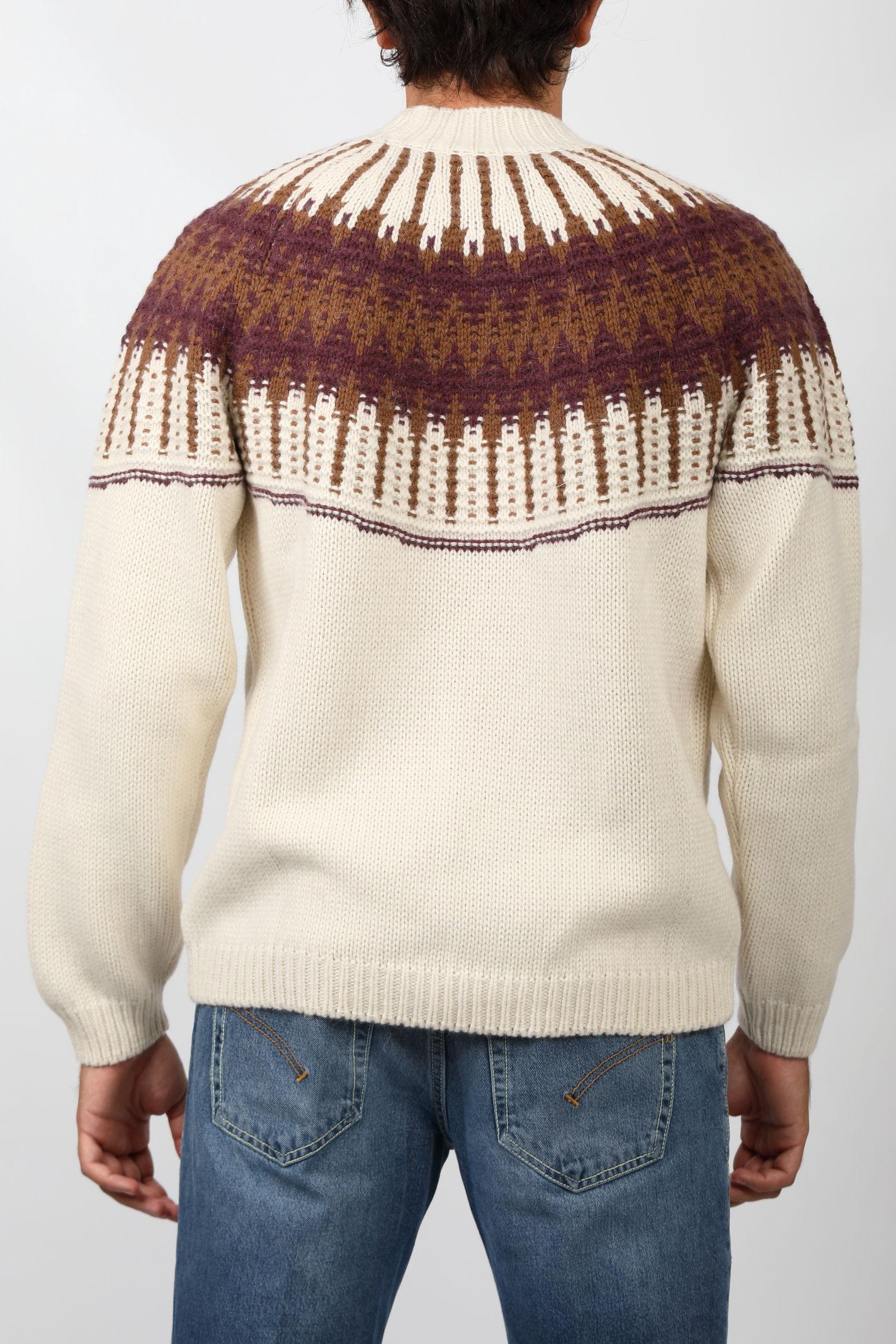 HALF NECK ALPACA WOOL DANIELE FIESOLI | Knitwear | DF0056100