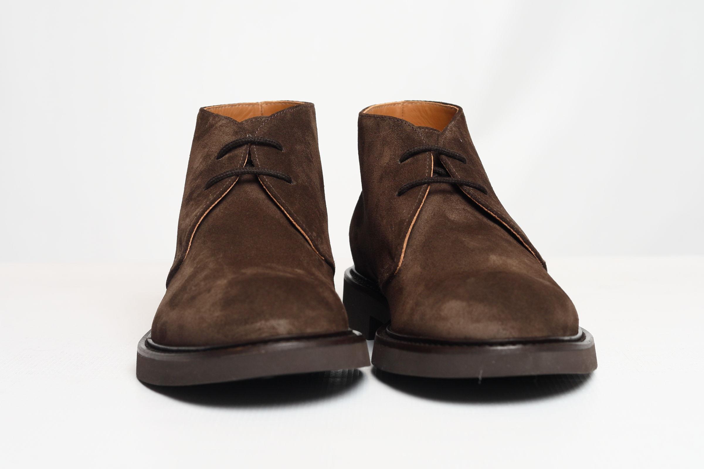 SUEDE ANKLE BOOTS DOUCAL'S | Shoes | DU1018GENOUF009TM00