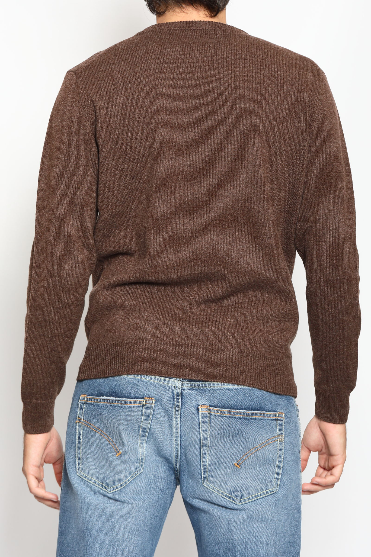 CASHMERE CREW NECK SWEATER FRANCESCO PIERI | Knitwear | FU0170051629