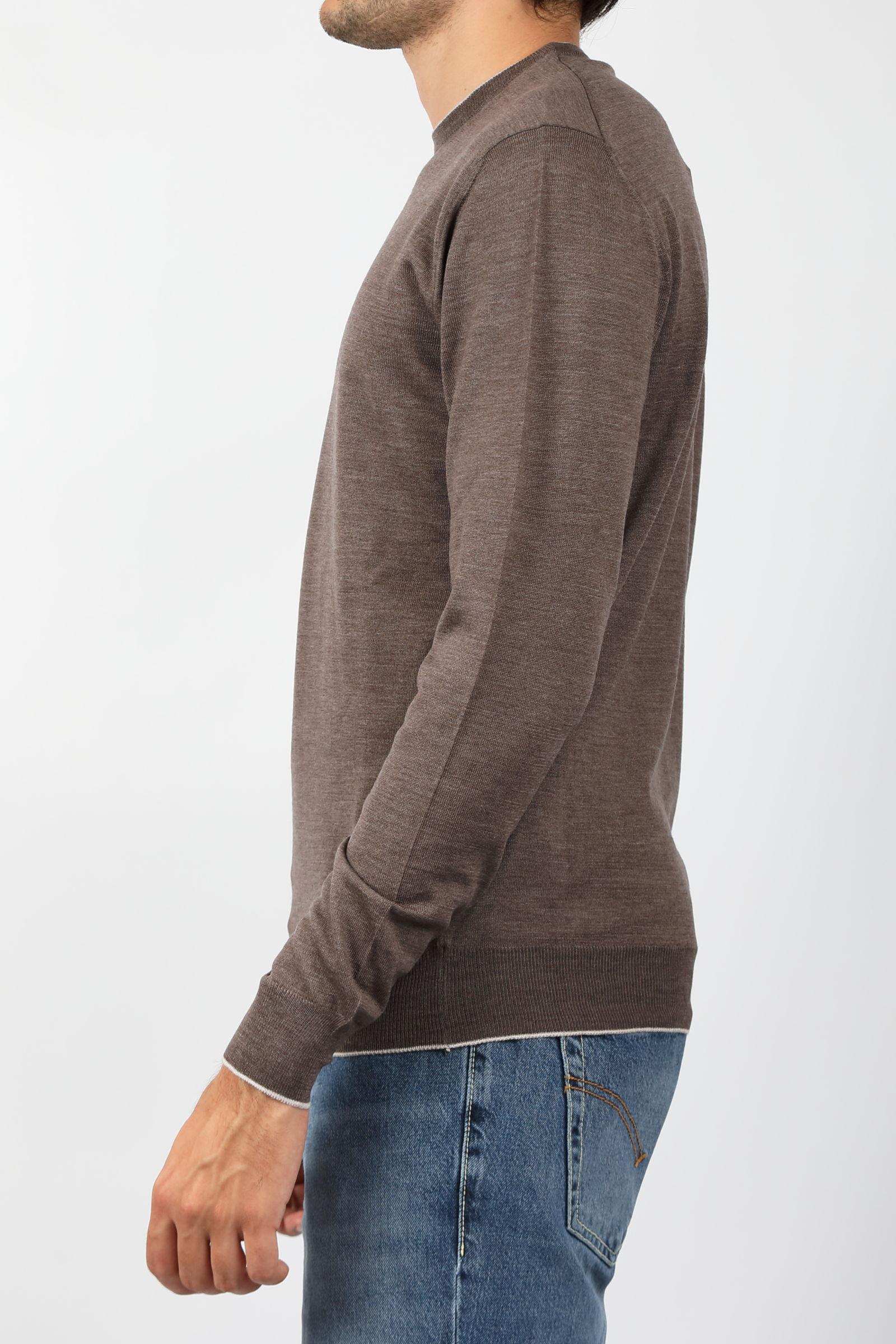 MERINOS WOOL SWEATER FRANCESCO PIERI | Knitwear | FU03600C421015