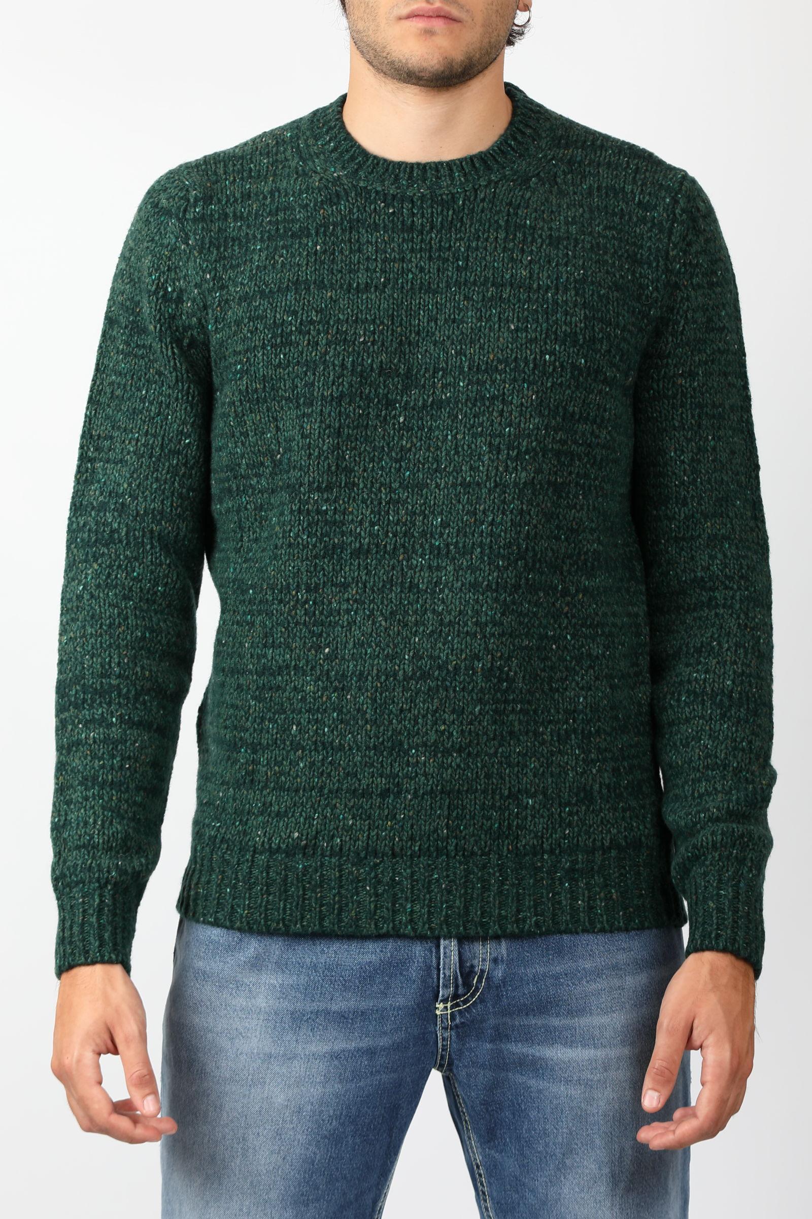 CASHMERE BLEND CREW NECK SWEATER FRANCESCO PIERI | Knitwear | FU423008851