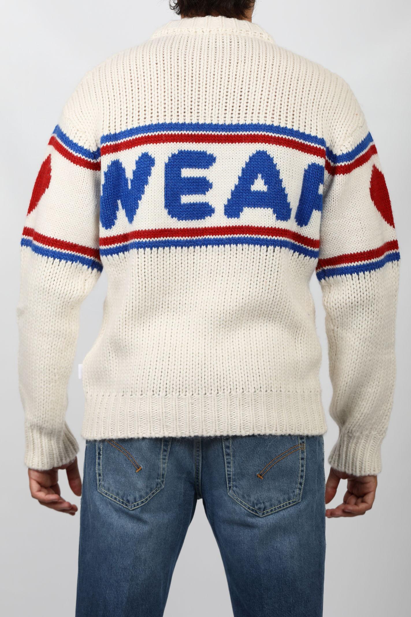TAPE LOGO SWEATER GCDS   Knitwear   CC94M02116066