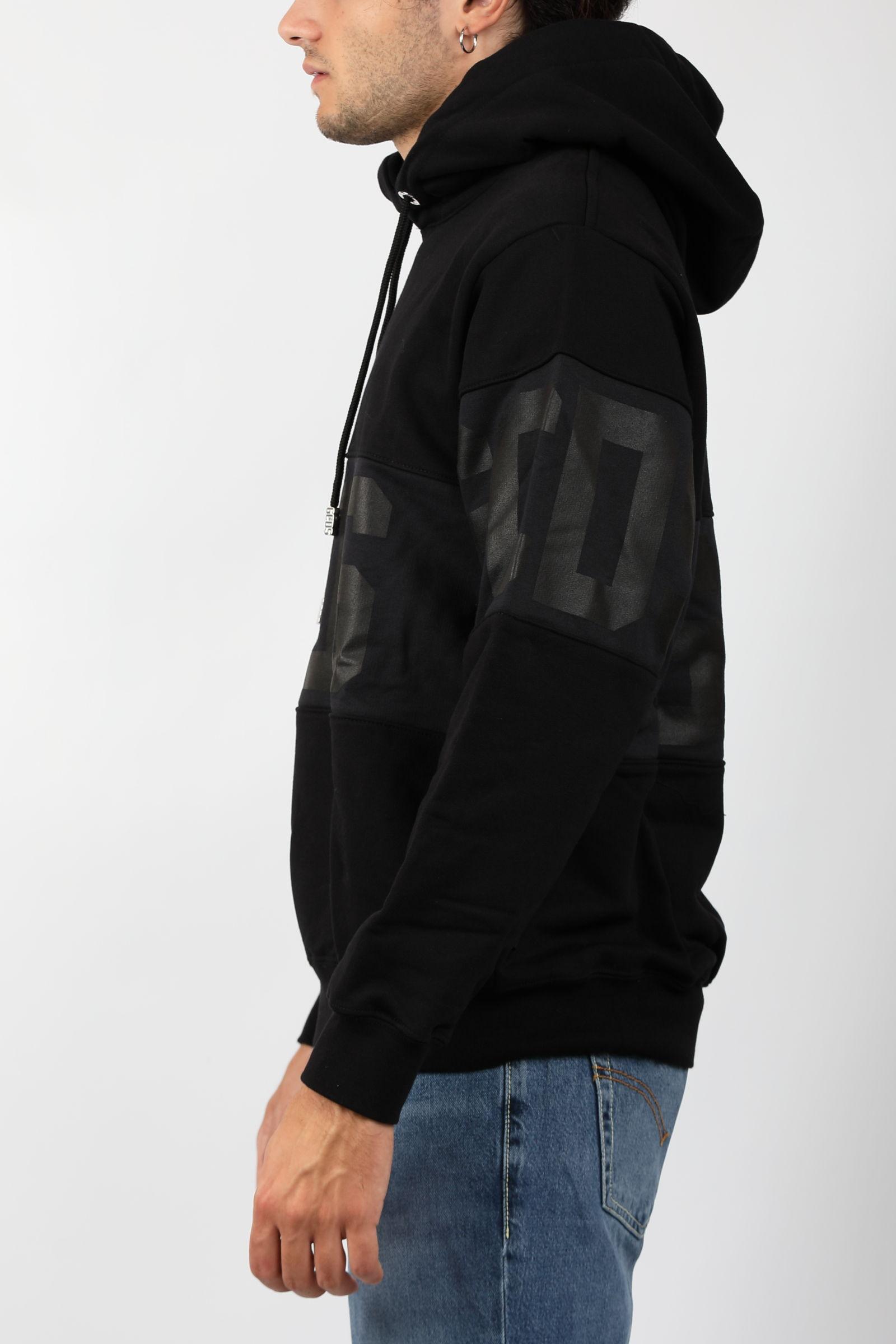 BAND LOGO HOODIE GCDS | Sweatshirts | CC94M02150302