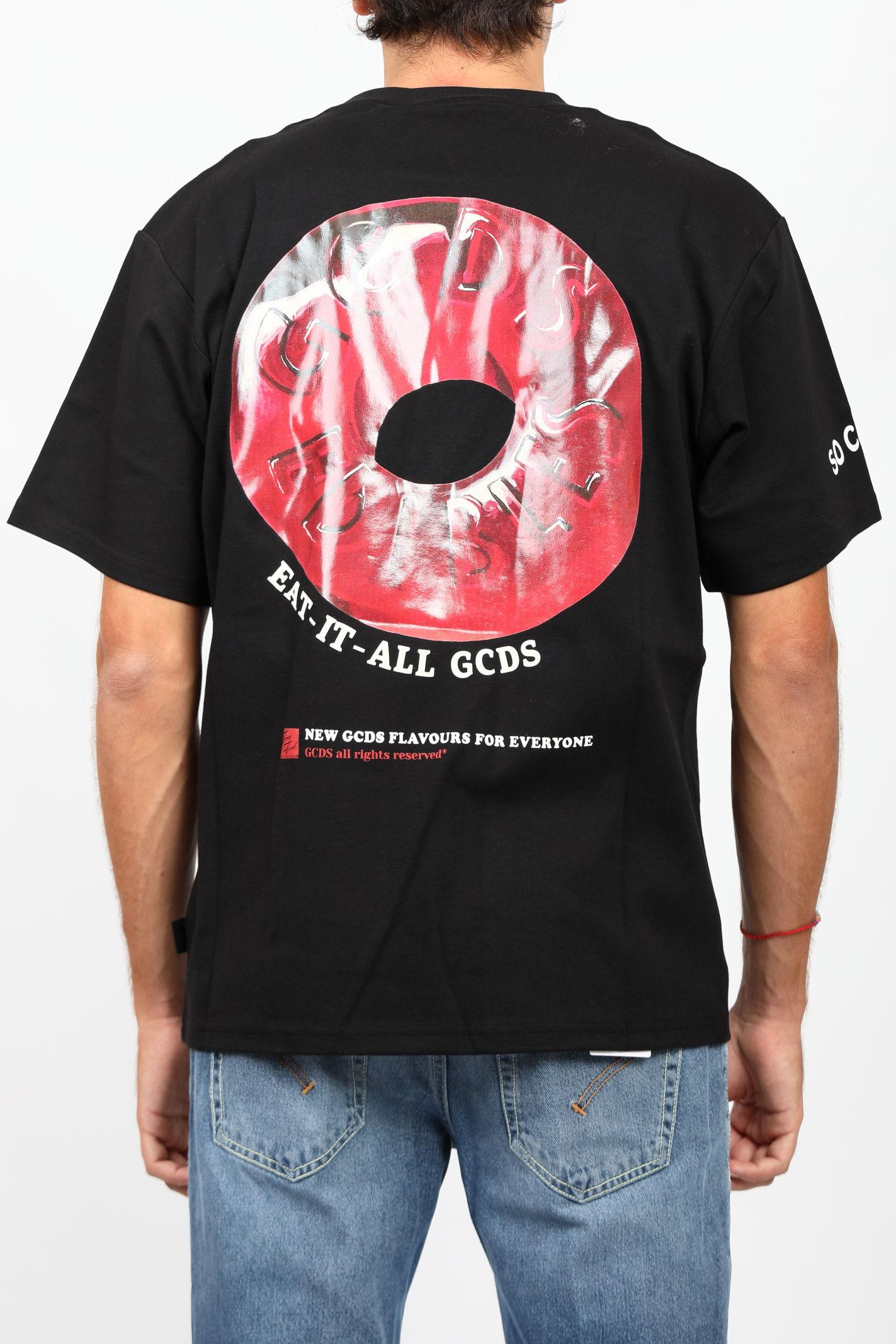 REGULAR TEE CANDY GCDS   T-shirt   FW22M02005402