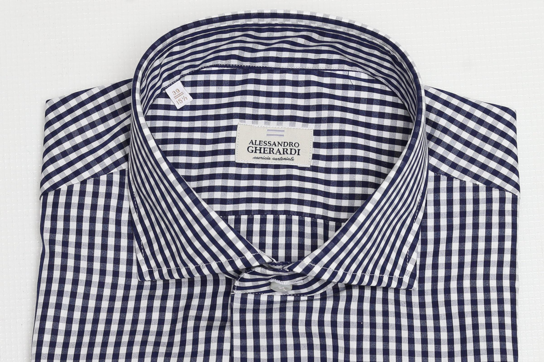 CAMICIA SARTORIALE IN COTONE GHERARDI   Camicie   1049683