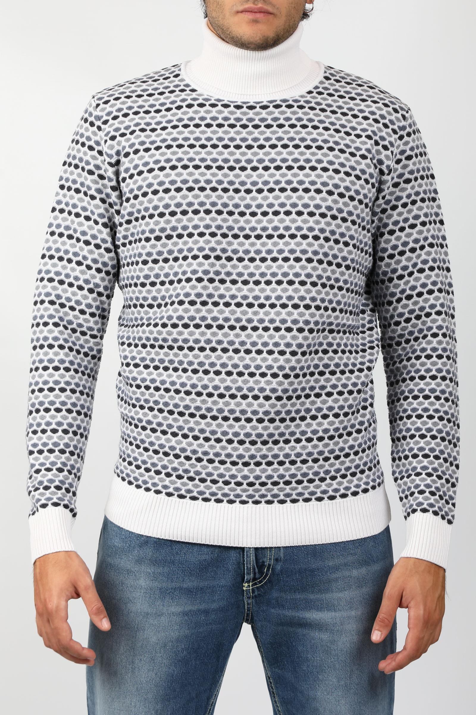 JAQUARD TURTLENECK KANGRA | Knitwear | 3015-0500001