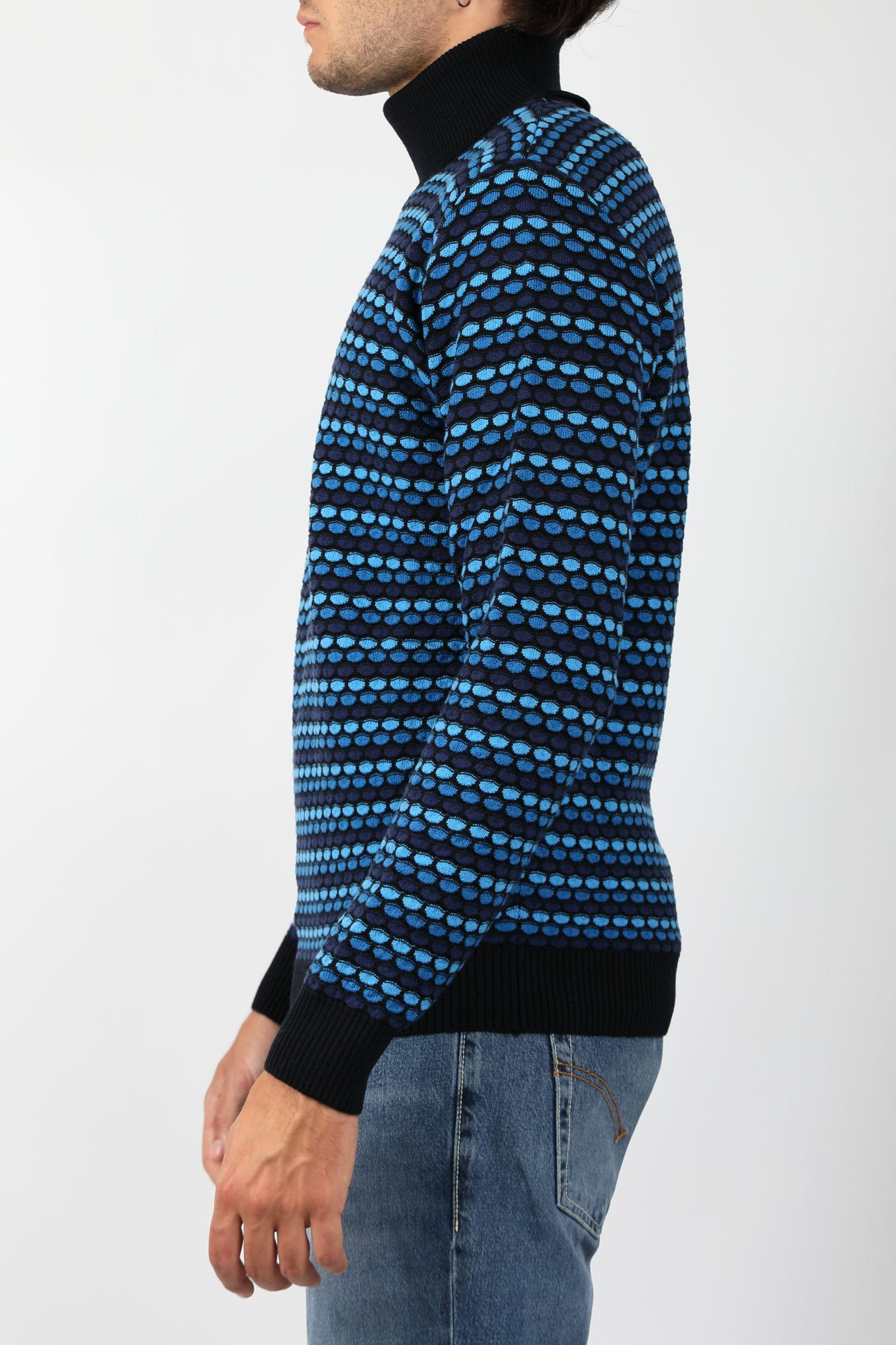 JAQUARD TURTLENECK KANGRA   Knitwear   3015-0500041