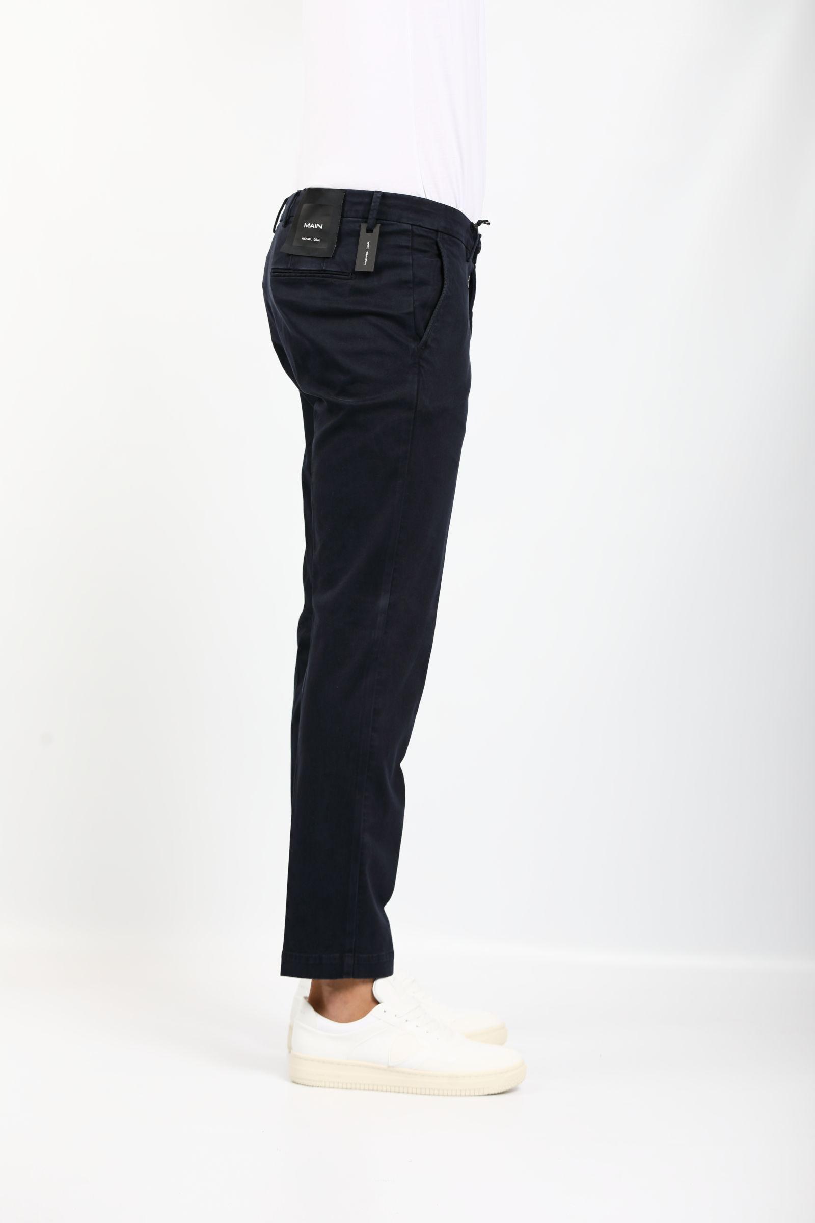 BRAD IN COTONE ELASTICIZZATO MICHAEL COAL   Pantaloni   MCBRA2505F21C016