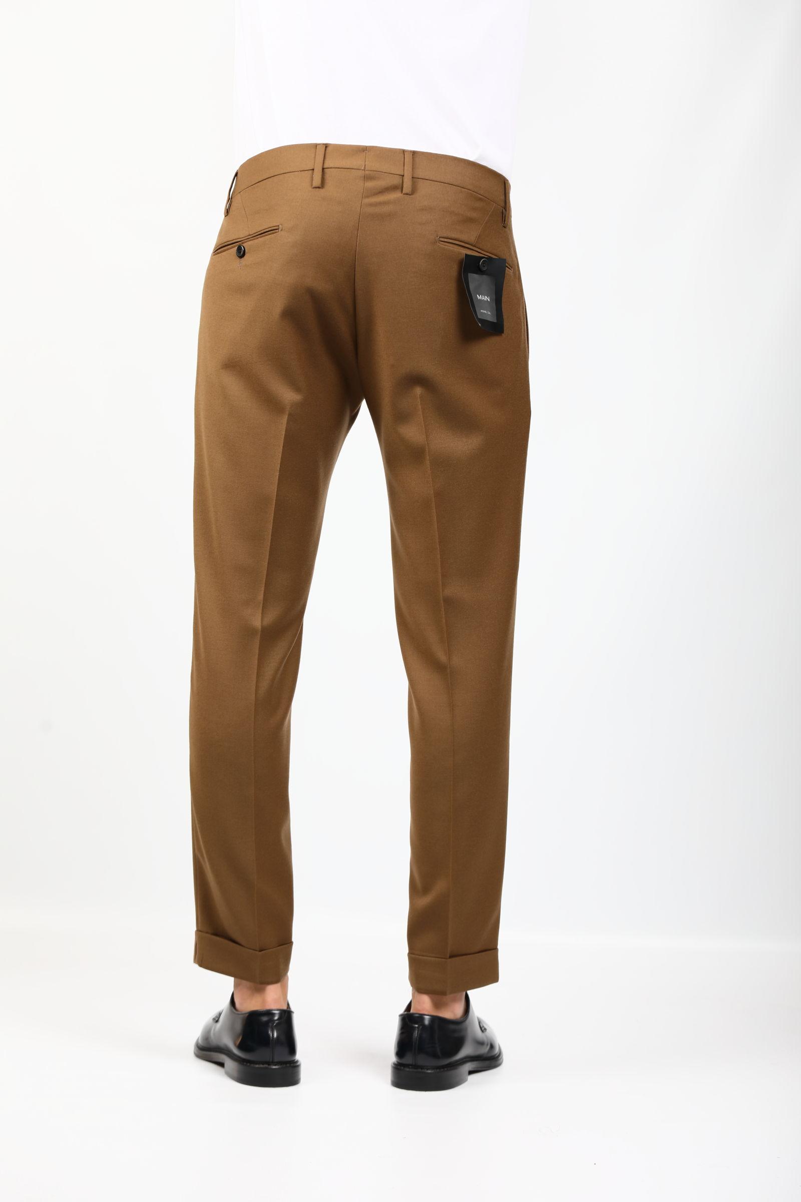 FREDERICK IN LANA ELASTICIZZATA MICHAEL COAL   Pantaloni   MCFR2.3713F21C169