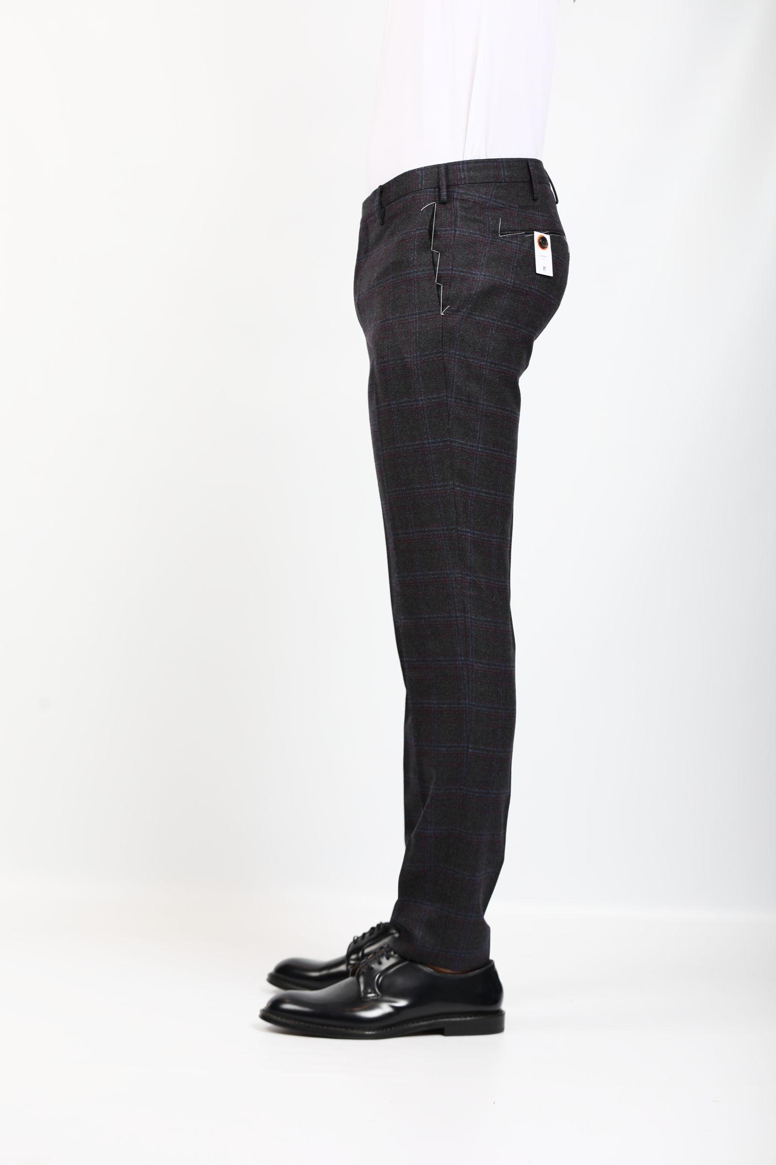 PANTALONE IN LANA PT TORINO   Pantaloni   KFZEZ00CL1-RB010260