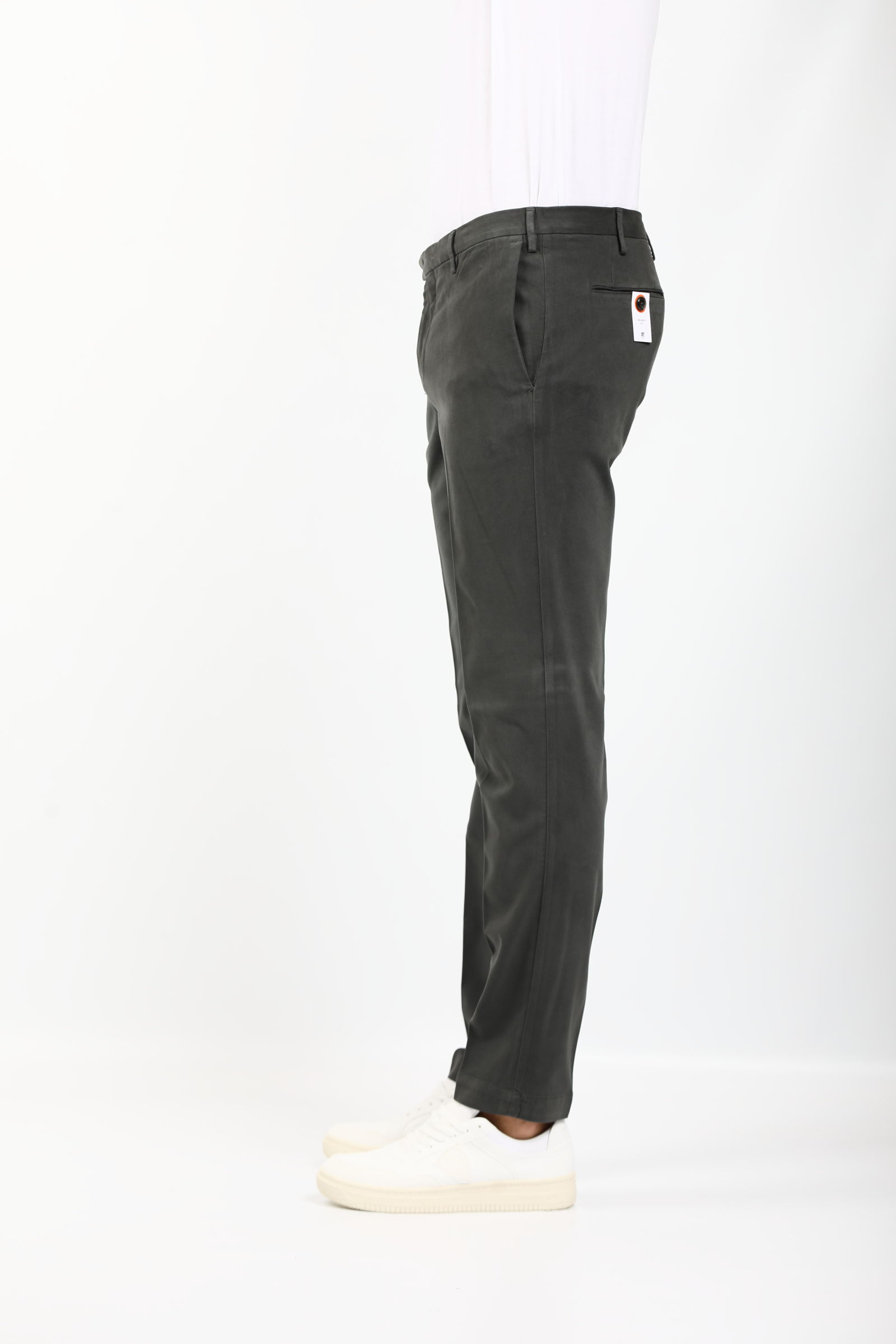 PANTALONE IN GABARDINE PT TORINO | Pantaloni | KTZEZE00CL1-NU460250