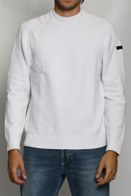 KNIT COTTON PLAIN ROUND RRD | Knitwear | W2111309