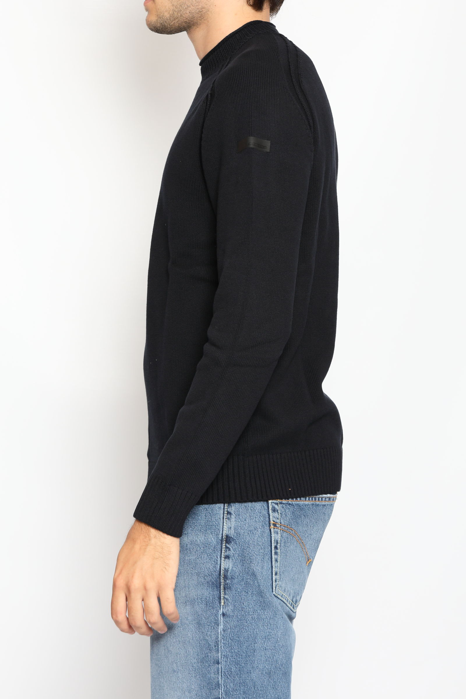 KNIT COTTON PLAIN ROUND RRD   Knitwear   W2111360