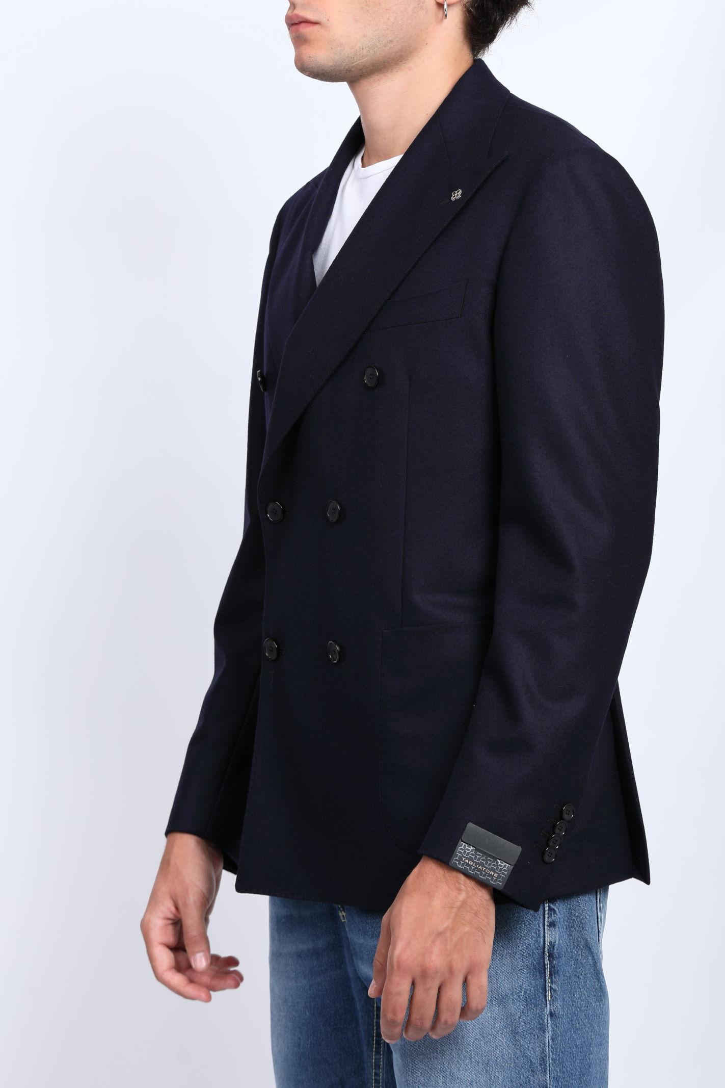 SUPER 100'S VIRGIN WOOL JACKET TAGLIATORE   Jackets   1SVS20K-070039B1020