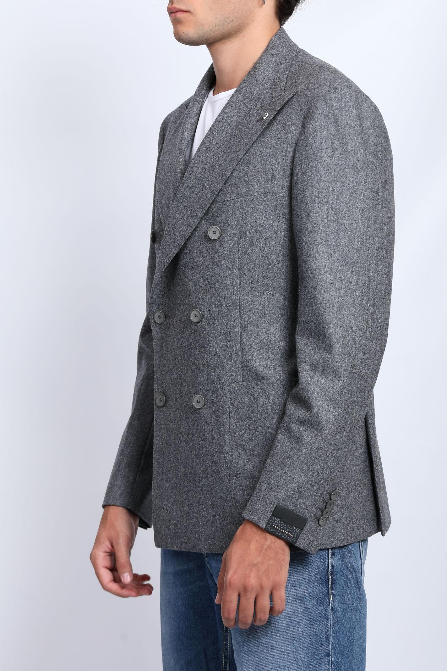 SUPER 100'S VIRGIN WOOL JACKET TAGLIATORE | Jackets | 1SVS20K-070039G3385