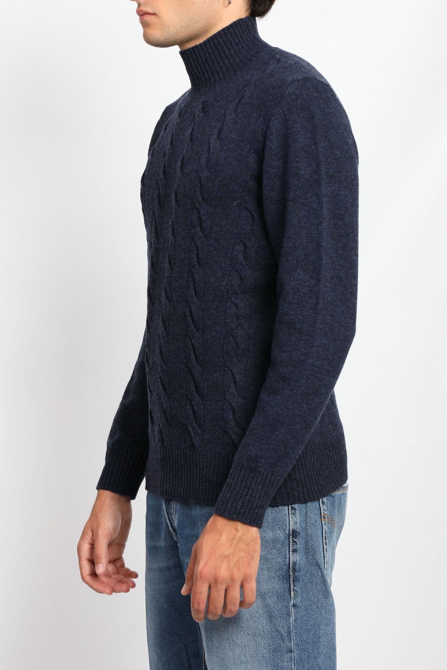 TURTLENECK SWEATER TAGLIATORE | Knitwear | MDLLATRE-PWI21BLU