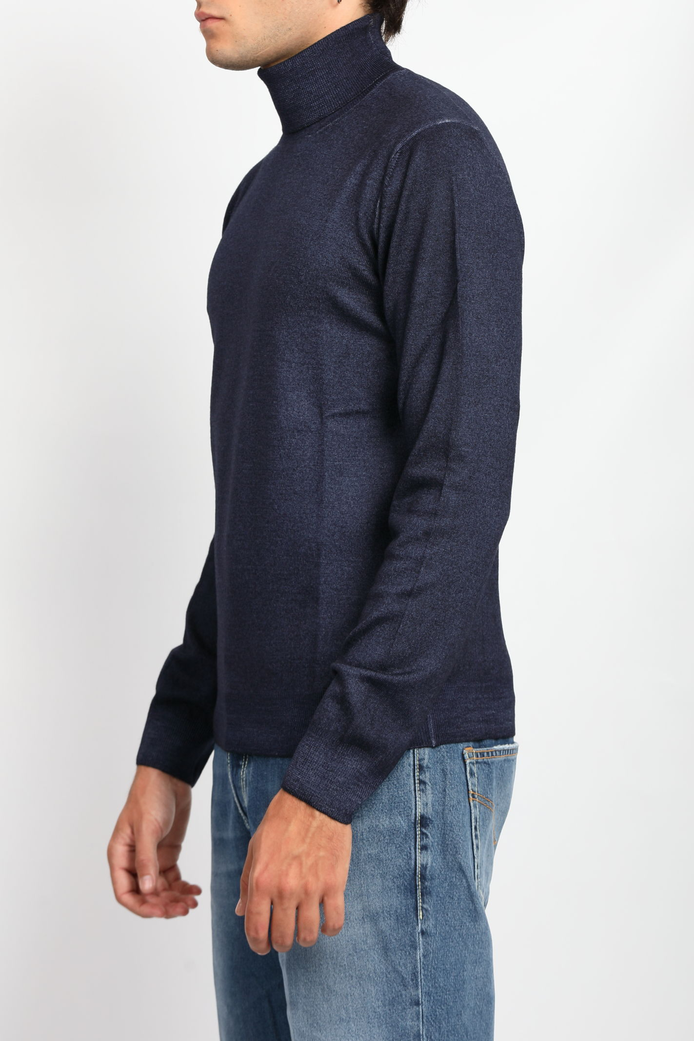PURE VIRGIN WOOL TURTLENECK TAGLIATORE | Knitwear | MDLLT517-GSI21905