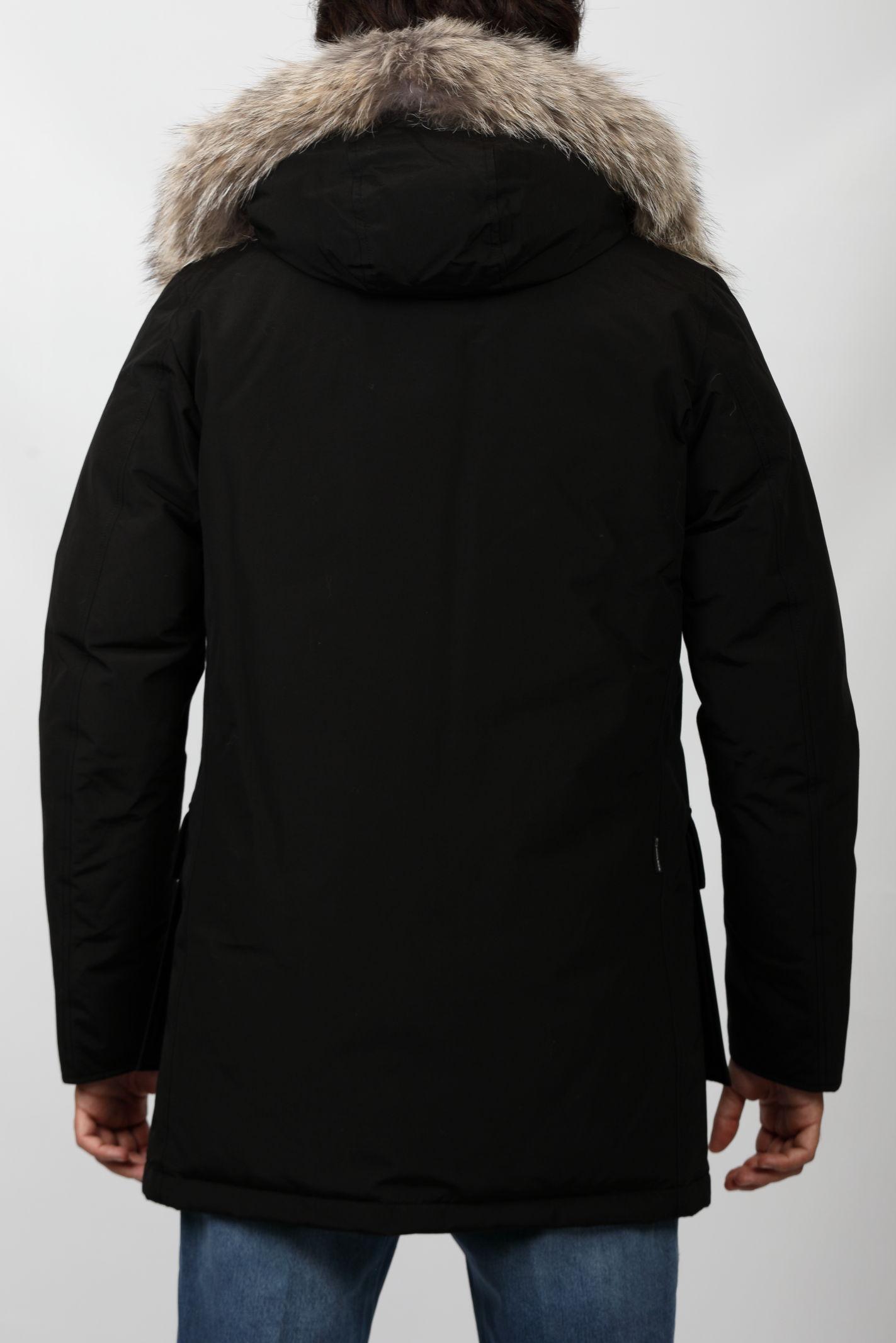 ARCTIC DETACHABLE FUR PARKA BLACK WOOLRICH | Giubbini | CFWOOU0482MRUT0001BLK