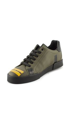 Portofino military green sneakers in calfskin. Colore  multicolor. Product   DA0702AV150HUX99 Availability  In stock 61fd7cef6da