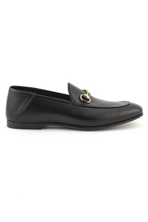 fb1d5299938 GUCCI. Black leather loafer