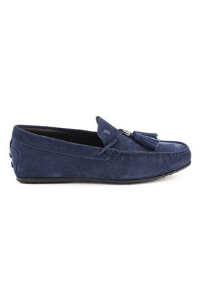 3e313fcf3fe TOD S. City Gommino Driving shoes in blue suede
