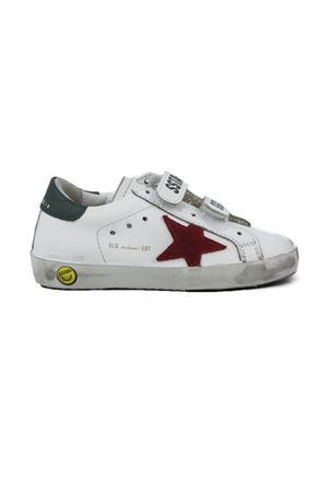 GOLDEN GOOSE | 484 | G36KS021J4WHITEGREENRED