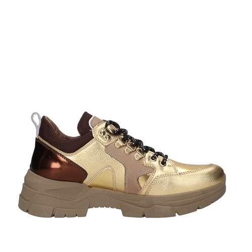 Sneakers Donna in Pelle Nero Giardini Nero Giardini | Sneakers | A909064D414