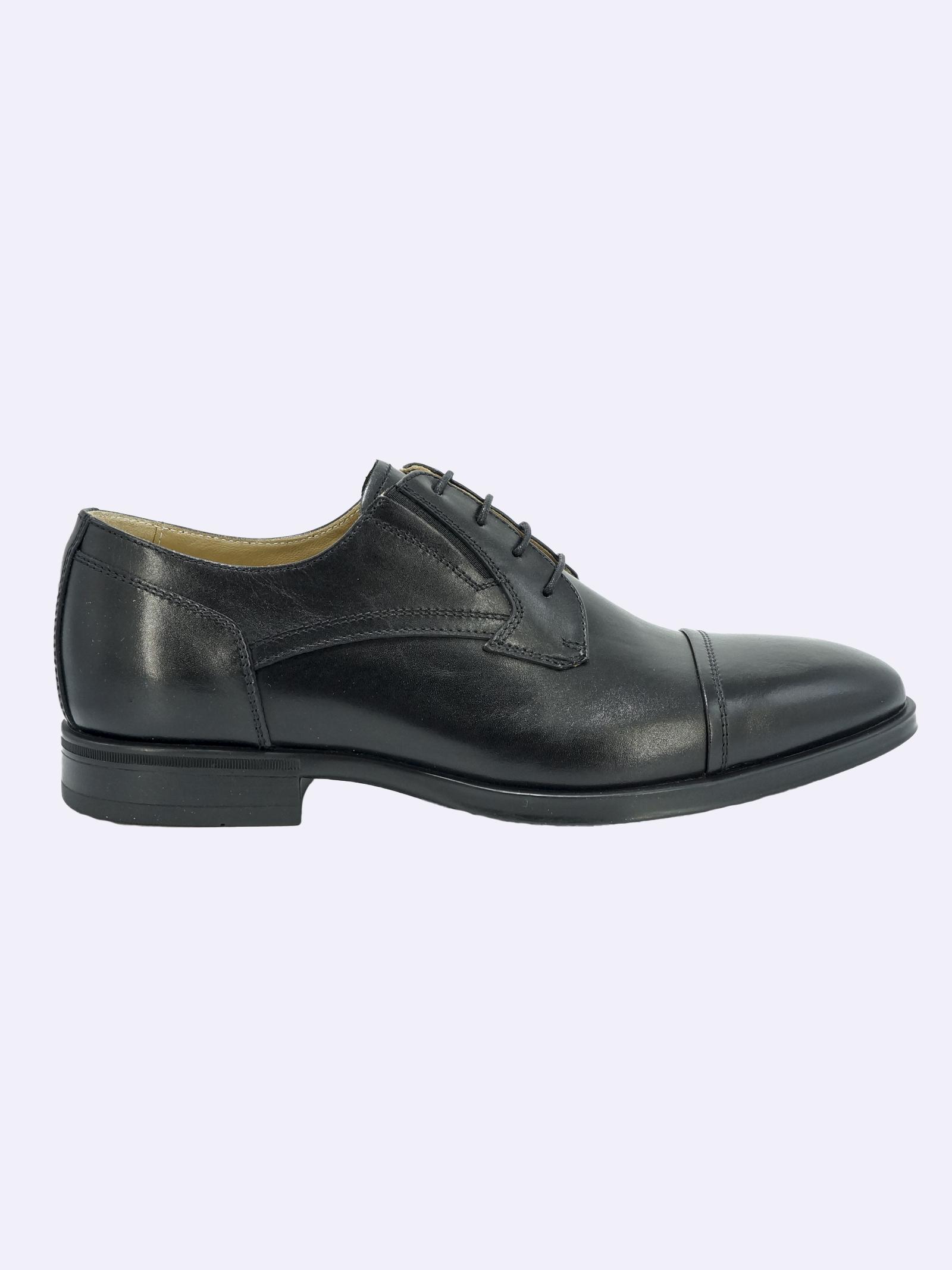 Scarpe Eleganti Uomo in Pelle Nera Nero Giardini | Stringate | I102101UNERO100