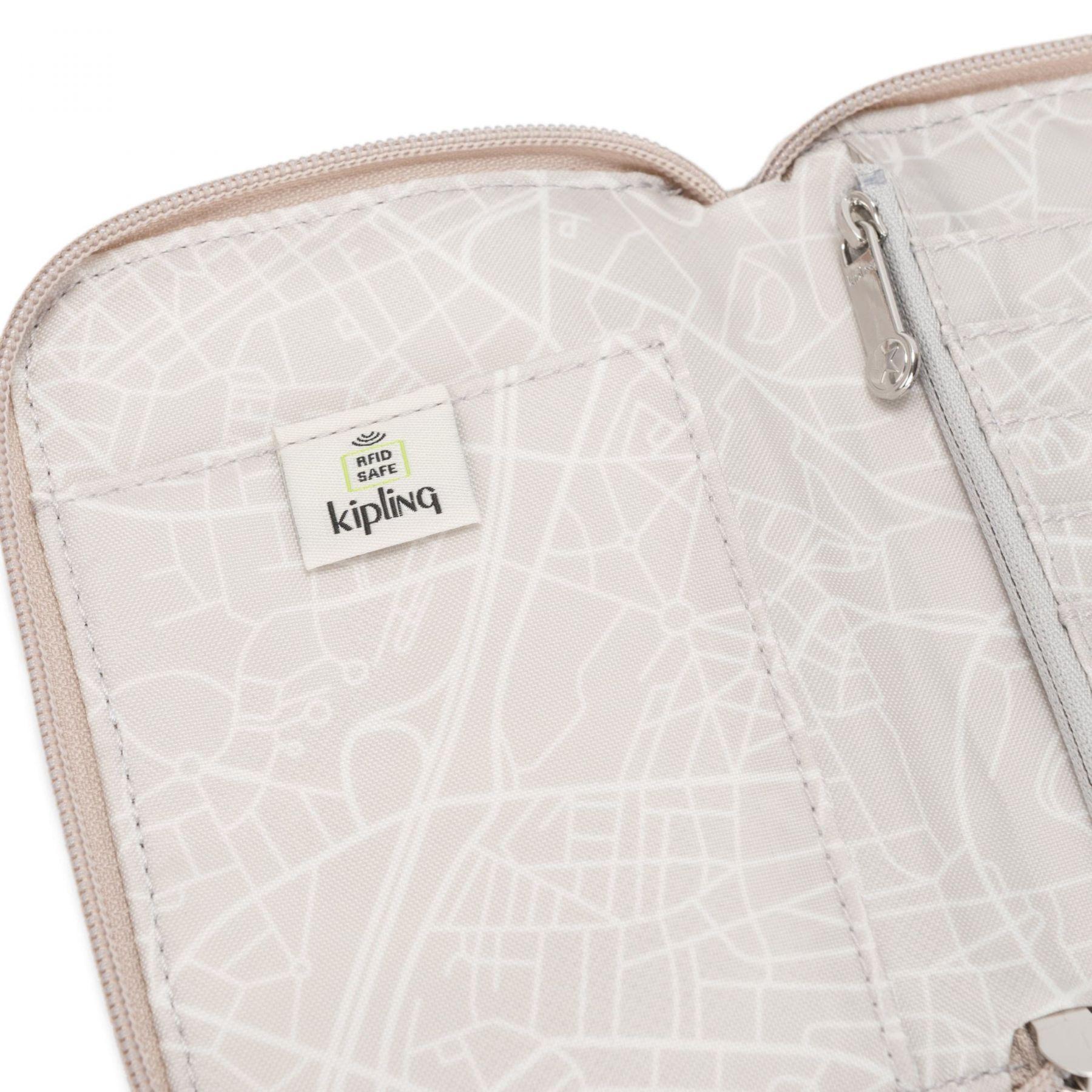 Portafoglio Kipling | Portafogli | TRAVELDOCWRISTMETALLICGLOW