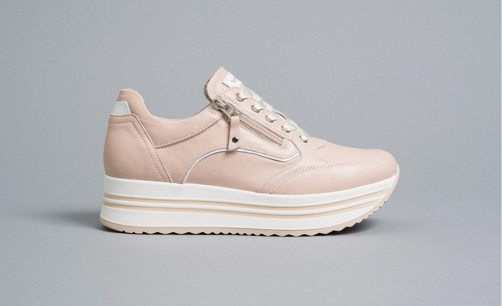 Sneakers Donna in Pelle Nero Giardini Nero Giardini | Sneakers | E010560D631